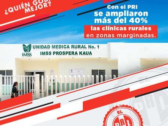 Gobiernos del PRI crearon el sistema de salud de México, fundaron el IMSS y el ISSSTE: PRI