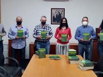 Secretaría de Cultura recibe libro sobre educación en casa ante la pandemia