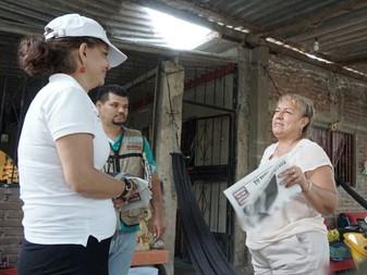 Combatiré la pobreza y la corrupción: Claudia Yañez