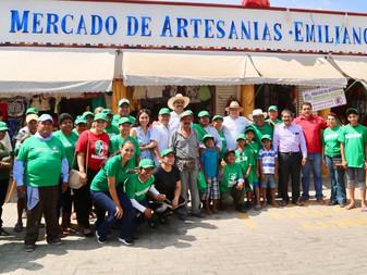 Tianguistas de Miramar respaldan a Virgilio Mendoza