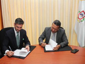 Firman convenio PGJE y Observatorio Ciudadano