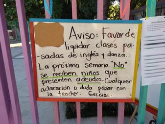 Denuncian violación a los derechos humanos de niños y niñas en Kinder de Manzanillo