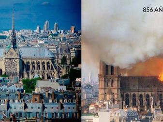 Tragedia en París,  incendio devasta la Catedral de Notre Dame