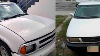 Localizan dos automóviles con reporte de robo
