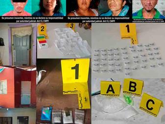 En cateos a viviendas de Manzanillo, Villa de Álvarez y Cuauhtémoc detiene a 5 personas