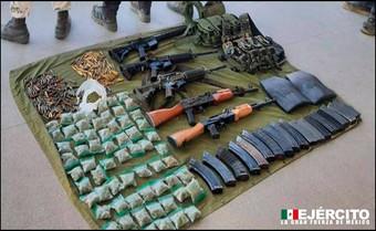 Ejército Mexicano repelen agresión armada en el estado de Michoacán