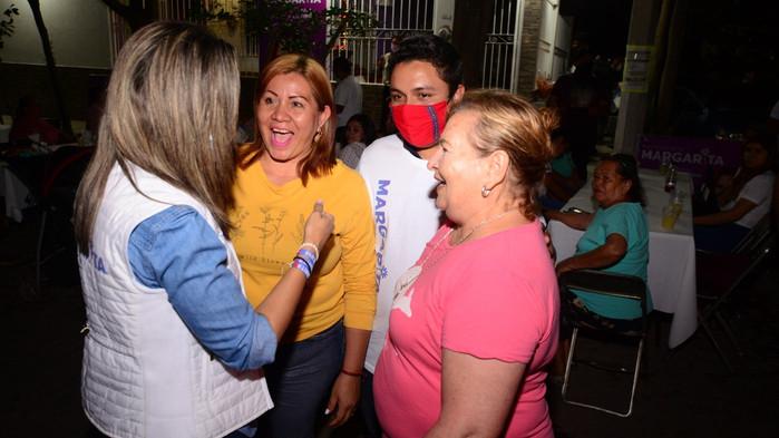 El papel de la mujer en la reconstrucción del tejido social, será fundamental: Margarita Moreno