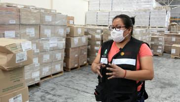 Mireya coordina que personal de salud del IMSS tenga insumos de protección para atender COVID-19