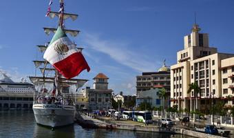 Fuego Olímpico viaja de La Habana, Cuba al Puerto de Veracruz