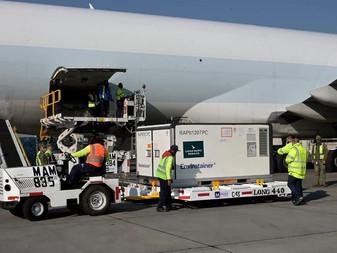 """Llega a México cargamento con 2 mil vacunas Chinas contra el Covid-19 """"Coronavac"""""""