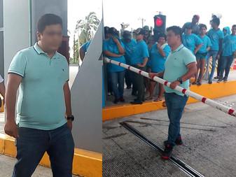Activistas denuncian a trabajador de Caseta de Cuyutlán por intento de homicidio