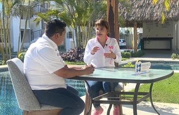 Exige Claudia Yáñez al Gobierno Federal y la SCT  mayor seguridad en la carretera Manzanillo-Colima
