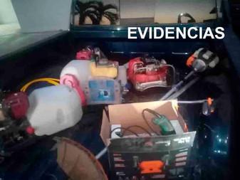 En cateo localizan objetos robados a la Secretaría de Salud