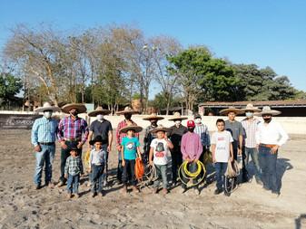 Asociación de Charros Camino Real, inicia Escuela de Charreria para niños de más de 6 años