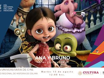 Día Nacional del Cine Mexicano en el Museo Regional de Historia de Colima