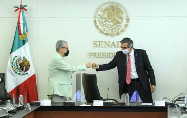 Fundación IMSS y Senado firman convenio para fortalecer actividades legislativas en materia de salud
