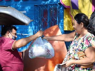 Esta semana Ayuntamiento de Manzanillo entregará  2 mil 400 despensas a familias vulnerables
