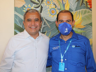 Marko Cortés respalda candidatura de Paco Rodríguez