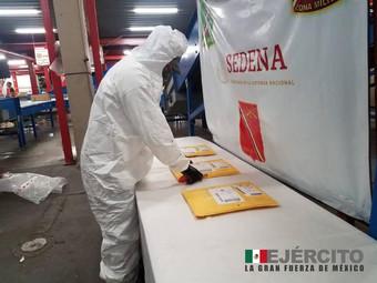 Asegura ejército más de 10 millones de pesos en posible fentanilo