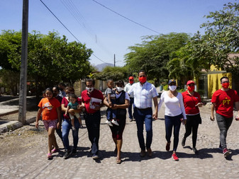 Visita Carlos Farías la zona rural sur del municipio