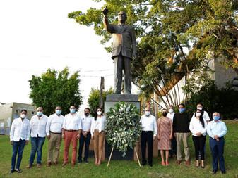 Recuerda PRI a Gustavo Vázquez como un hombre leal a su partido y a Colima