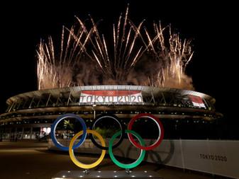Con el encendido del pebetero Olímpico, inician los Juegos Olímpicos de Tokio 2020