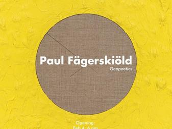 Se inaugura en la CDMX la exposición GEOPOETICS del artista sueco Paul Fägerskiöld