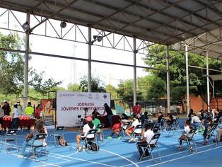 """Participan más de 160 en la 2ª Jornada Deportiva """"Jóvenes en Prevención"""""""