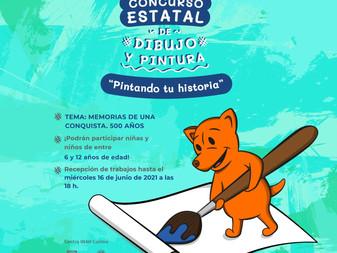 Invita Museo Regional al 2do. concurso estatal de dibujo y pintura pintando tu historia