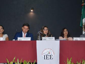 Consejera Presidenta del IEE Colima rinde Informe de Actividades 2018