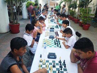 Todo un éxito 1er Torneo de Ajedrez Municipal de Manzanillo