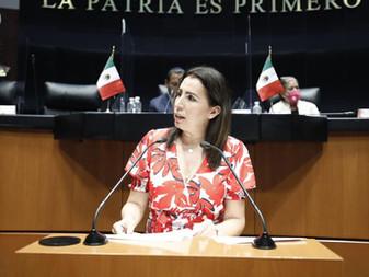 Solicita Senadora Gricelda Valencia a SCT mejorar seguridad en cruces ferroviarios de Colima