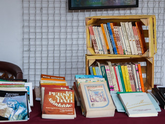 Inauguran Feria del Libro, Adopta un Libro, en la Casa del Archivo
