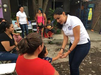 Vianey Chapula va por más recursos económicos para el deporte social
