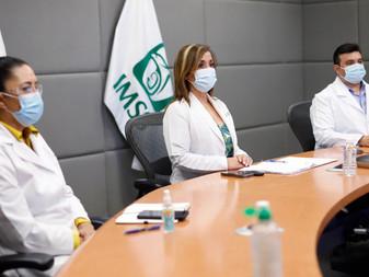 Informa IMSS padres de pacientes pediátricos oncológicos avance en estrategias de atención
