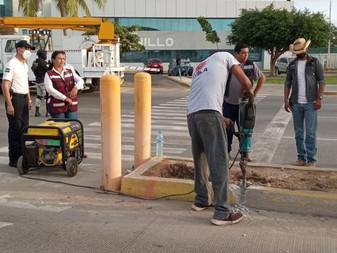 Da inicio Griselda Martinez con el programa de semaforización en distintos puntos de la ciudad