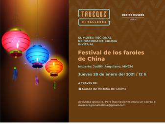 Invita Museo Regional de Historia al taller en línea Festival de los Faroles en China