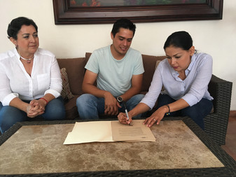 Vianey Chapula firma la Agenda Ambiental Colima 2018-2021