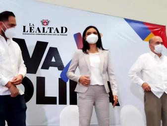 Sostendrá Mely encuentro con dirigentes nacionales del PAN, PRI y PRD