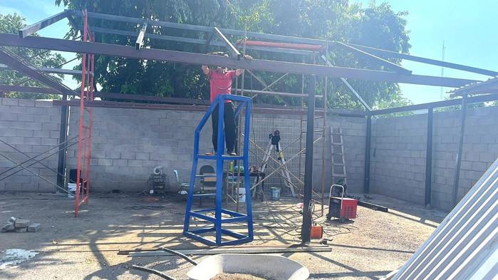 Construye Ayuntamiento de Manzanillo gimnasio y comedor para las y los elementos de seguridad