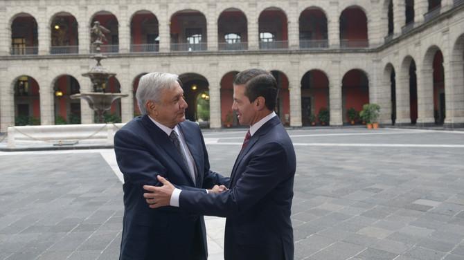 Fotogalería: Reunión de Peña Nieto con el Presidente Electo Andrés Manuel López Obrado