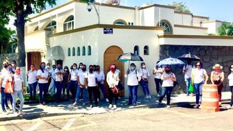 Trabajadores de Cendis cumplen 100 días sin recibir su sueldo