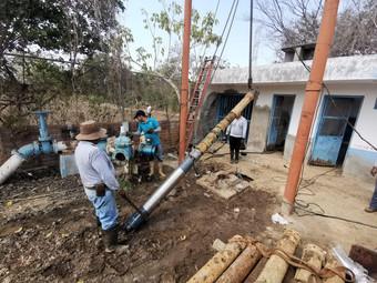 Capdam restablece servicio de agua potable al norte de la Delegación de Santiago