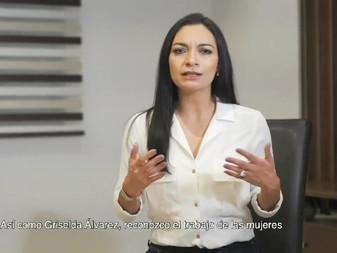 Asegura Mely que Griselda Álvarez sigue Vigente; la recuerda a 12 años de su muerte