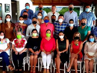 Arranca Virgilio Mendoza mesas de trabajo del Equipo Verde en Colima