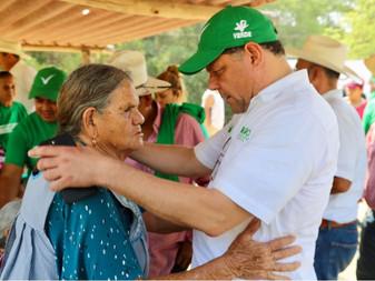 Las mujeres serán uno de los ejes principales de mi gobierno: Virgilio Mendoza
