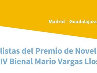 Anuncian a los doce finalistas del IV Premio Bienal de Novela Mario Vargas Llosa