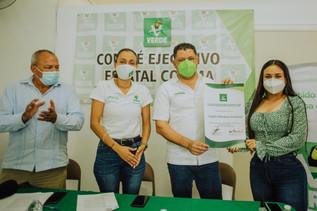 Ratifica Consejo Político del PVEM la candidatura de Virgilio Mendoza a la gubernatura de Colima