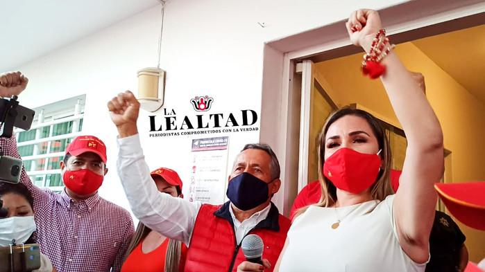 Se registra Aurora Cruz como candidata del PT a la Gubernatura de Colima
