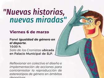 La Embajada de Suecia en México invita al Panel: Igualdad de género en el deporte